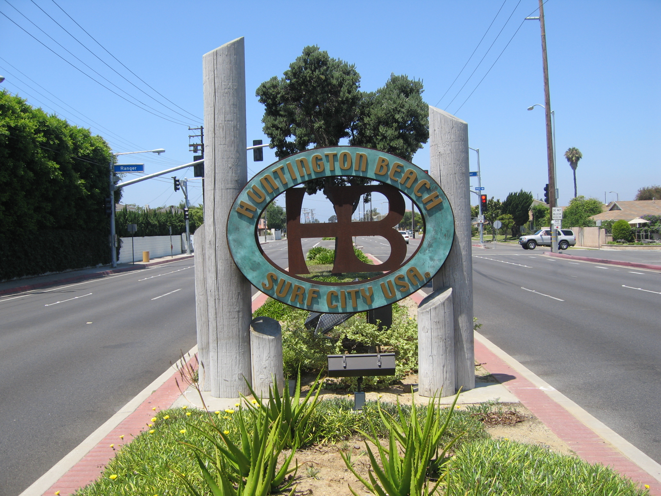 Huntington Beach Sign The Best Beaches In World