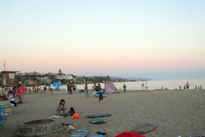 little corona sunset 300x201 Corona del Mar State Beach