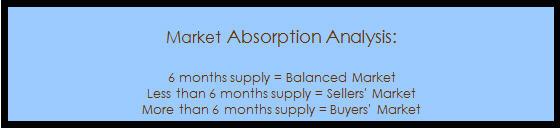 Market Absorption Analysis