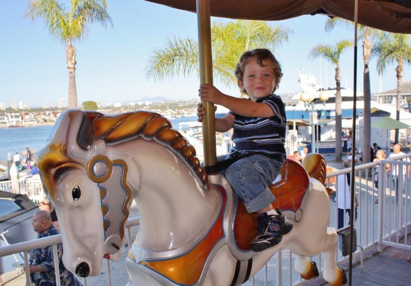 Balboa Fun Zone Carousel