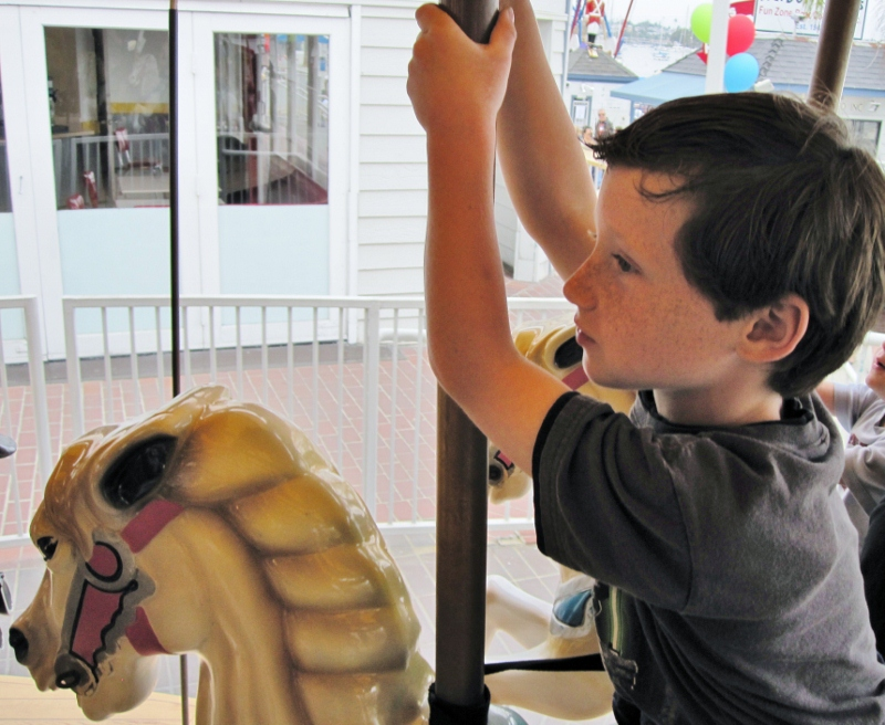 Balboa Fun Zone Carousel