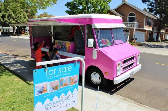 Ice Cream Truck Open House